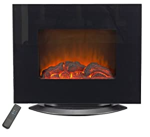 Lifesmart Dual Mount 800 Square Foot Infrared Wall Heater/Fireplace w/Remote