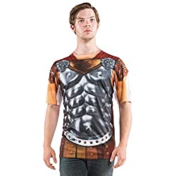 Gladiator Armor with Cape Costume T-Shirt