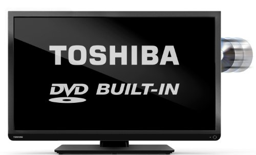 """Image of Toshiba 32D1333 32"""" HD Ready LED TV with Freeview and built-in DVD player"""