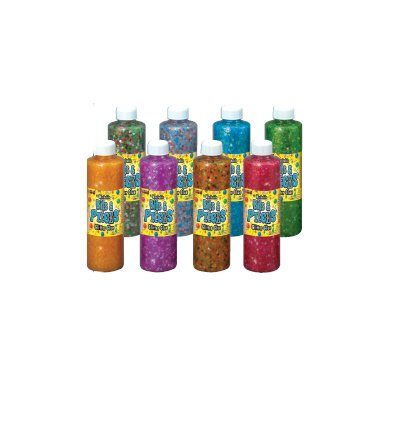 Washable Bits & Pieces Glitter Glue Set of 8