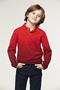 Boy's Long Sleeve Dip dyed Polo