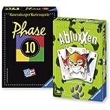 Ravensburger 81883 - Classique et nouveauté: Phase 10 et Abluxxen, Jeu de cartes