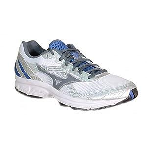 Mizuno - Mizuno Crusader 9 Zapatos Deportivos Running Gris Tejido 150308