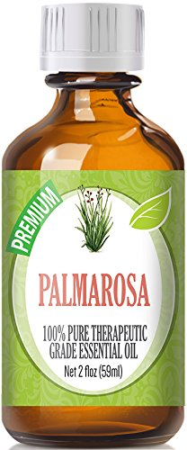 Palmarosa (60ml) 100% Pure, Best Therapeutic Grade Essential Oil - 60ml / 2 (oz) Ounces