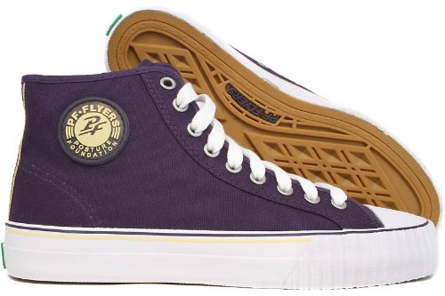 PF Flyers Men's Center Hi Reiss Sneaker,Purple,9 M