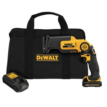 Factory-Reconditioned Dewalt Dcs310S1R 12V Max Cordless Lithium-Ion Reciprocating Saw Kit