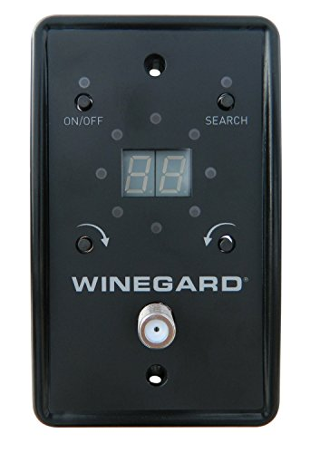 Winegard Rz 8500 White Rayzar Automatic Amplified Hd Tv
