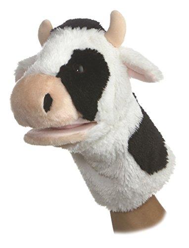 """Aurora World 10"""" Cow Puppet"""