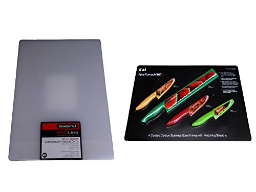 Commercial Grade Cutting Board And Komachi Hd Four Knife - Bundle
