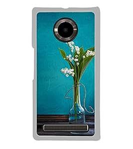 Beautiful Vase 2D Hard Polycarbonate Designer Back Case Cover for YU Yuphoria :: YU Yuphoria YU5010