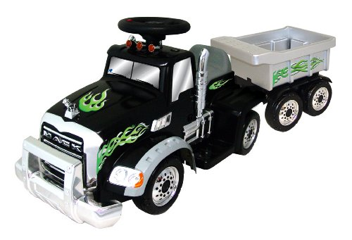 New Star Mack Truck Battery Operated Riding Toy