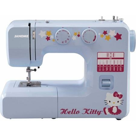 12-Stitch-Cute-Functional-Hello-Kitty-Sewing-Machine-for-Kids-or-Beginner