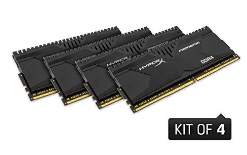 Kingston 金士顿 HyperX Predator 掠食者 DDR4台式内存 16G套装(4G*4、3000MHz) $215.99+$27.02直邮中国(约¥1530)图片