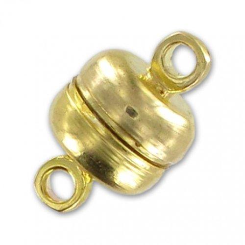 Magnetverschluß 12x7mm Gold tone x1