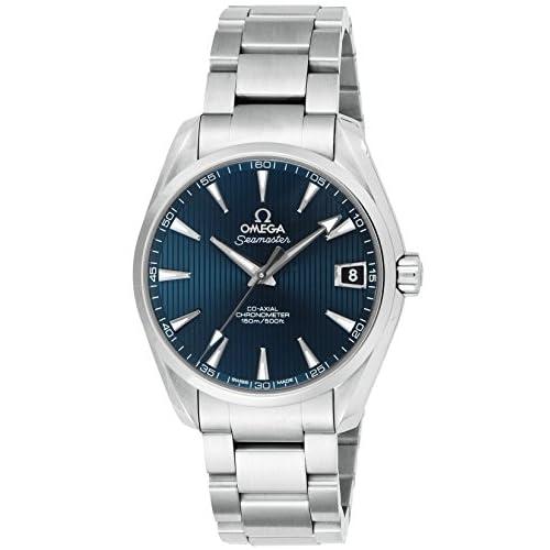 [オメガ]OMEGA 腕時計 シーマスターアクアテラ ブルー文字盤 コーアクシャル自動巻 231.10.39.21.03.001 メンズ 【並行輸入品】