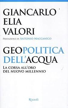 Cover Geopolitica dell'acqua. La corsa all'oro del nuovo millennio