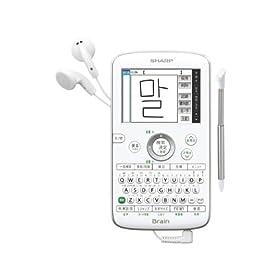 SHARP 韓国語手書き対応 コンパクト カラー電子辞書 PW-AC40