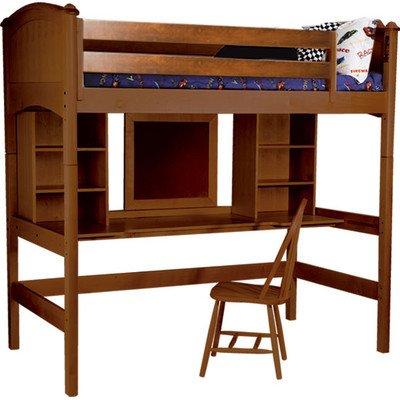 Kids Loft Beds With Desk 7643 front