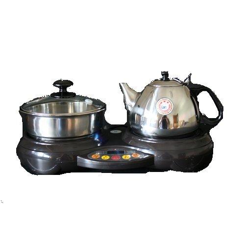 金灶数码多功能茶道电磁炉kj-20e(咖啡色)图片