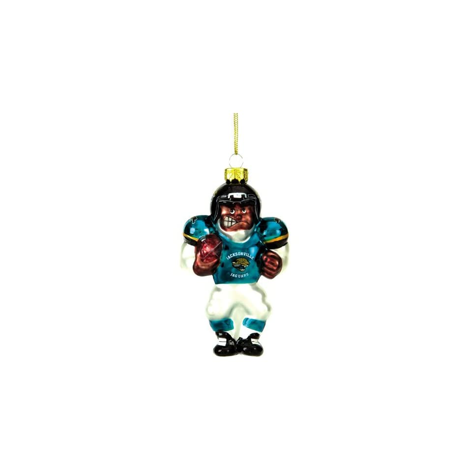 Jacksonville Jaguars NFL Glass Player Ornament (5 African American