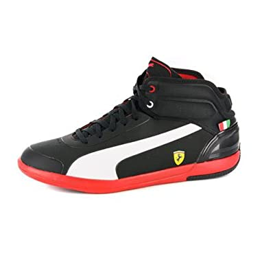 Amazon.com: Puma Mens Driving Power Light Ferrari High Top Sneakers