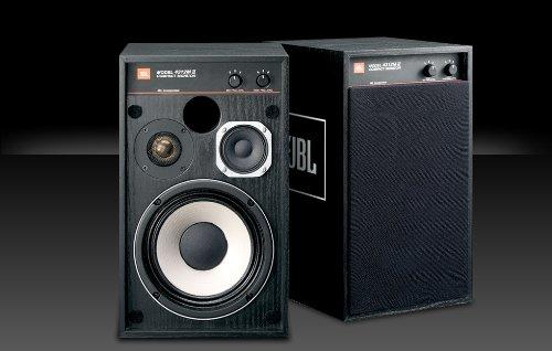 Jbl 4312Mii-Bk (Pair) Compact Monitor Speakers 4312M2Bk
