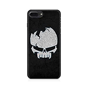 NXT GEN Crazy Skull Premium Printed Mobile Back Case For Apple iPhone 7 Plus