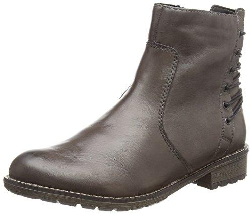 Remonte Dorndorf R3351 - Stivali classici imbottiti a gamba corta donna, marrone (braun (brown / 45)), 43
