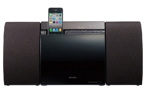 Sony CMTCX5BIP 40 Watt Slim Hi-Fi System with iPod/iPhone Dock and DAB/DAB+ - Black