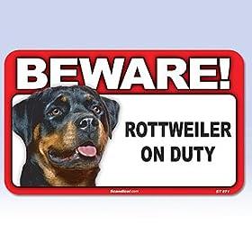 Rottweiler Sign