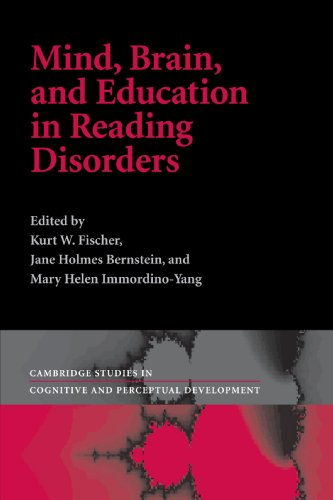 Mind, Brain And Education In Reading Disorders (Cambridge Studies In Cognitive And Perceptual Development) front-1008210