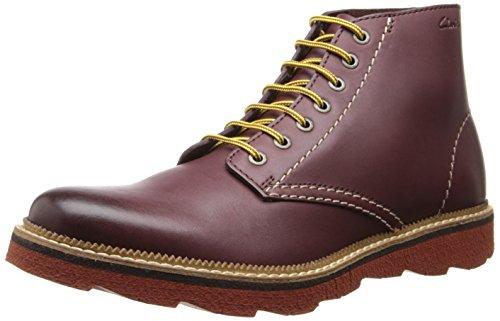 Clarks Men's Frelan Rise Boot,Burgundy,8 M US