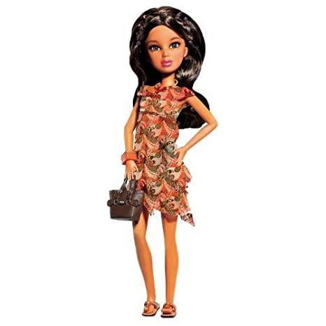 Liv'n Wild Animal Instincts Dress (Doll not included) by Spin Master (English Manual)