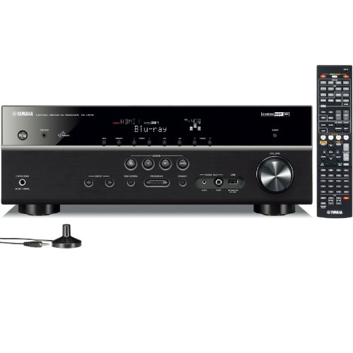 Yamaha RX-V573 7.1-Channel Network AV Receiver