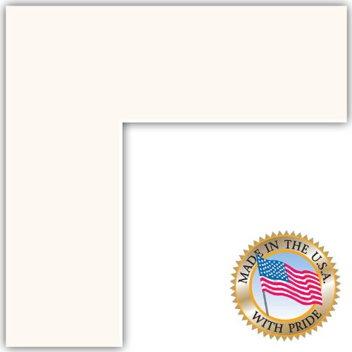 20x20 Super White Custom Mat For Picture Frame With 16x16