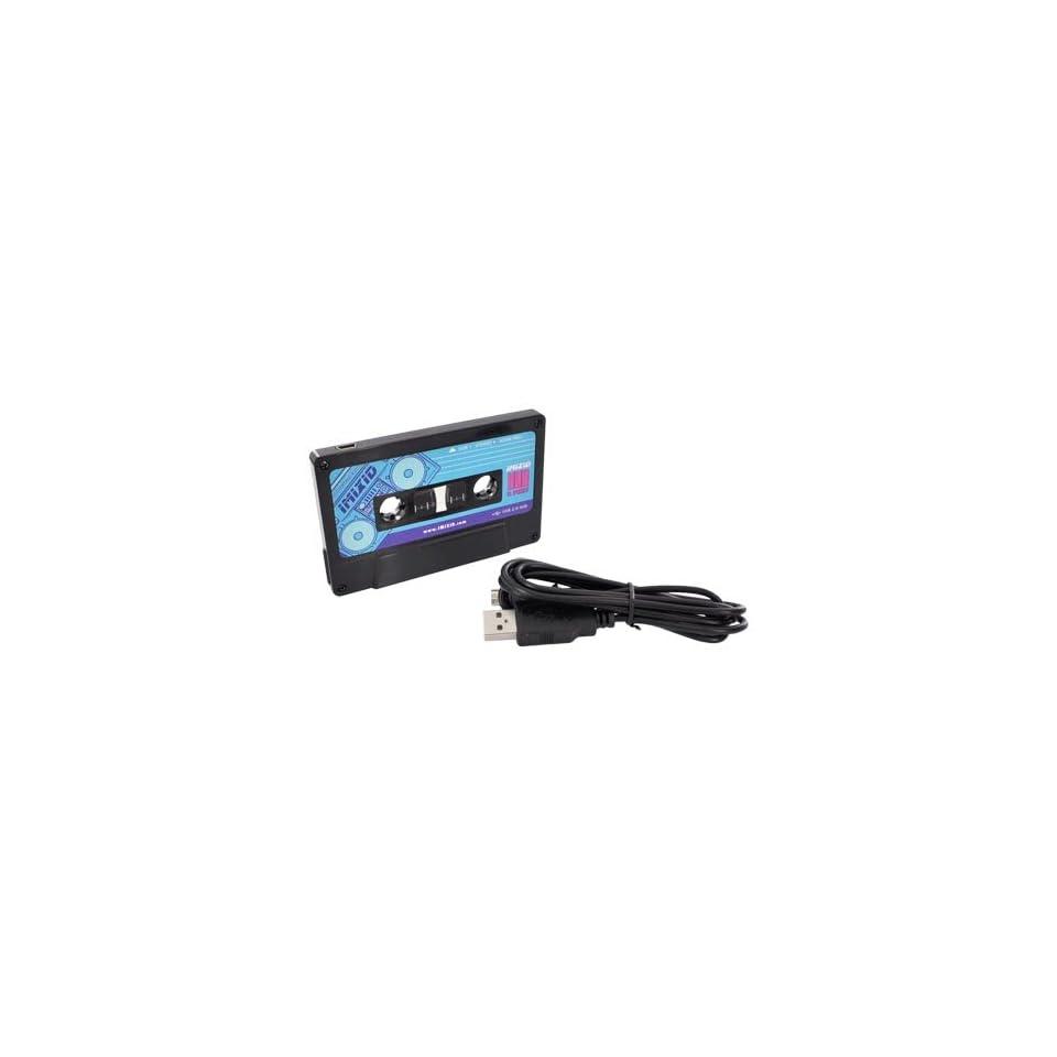 Black Cassette Tape OEM IMIXID Universal 3 Port USB Hub w Mini USB Cable, 70231