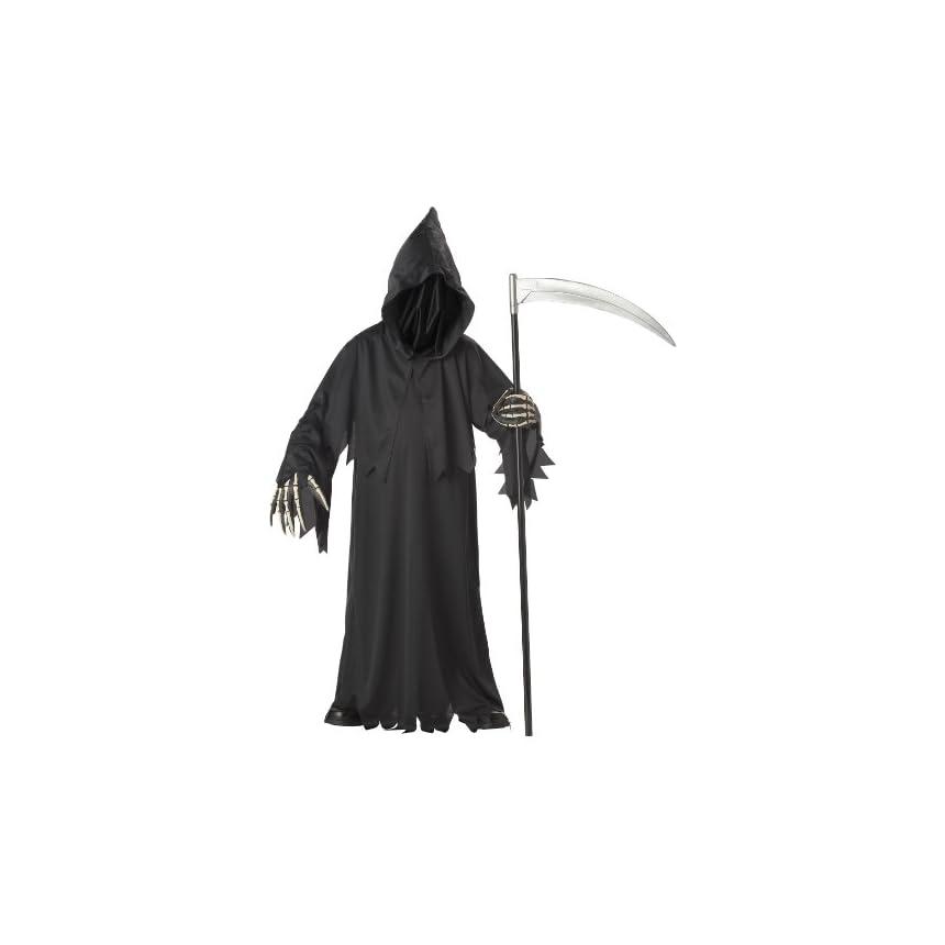 California Costume Grim Reaper Child's Costume, M 8-10