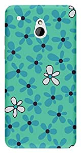 TrilMil Printed Designer Mobile Case Back Cover For HTC One Mini
