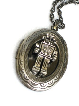 Steampunk-Mr-Robot-Necklace-Pendant-locket