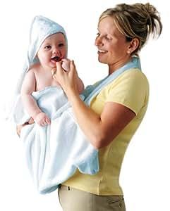 Clevamama Serviette de Bain tablier, Bleu
