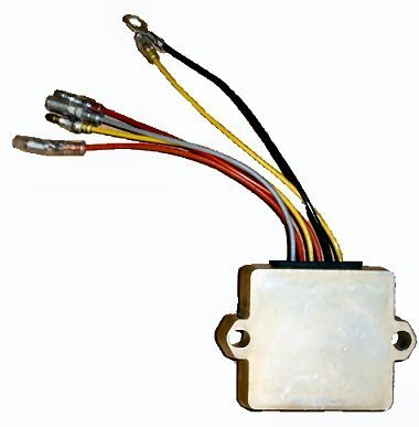 Regulator Rectifier for Mercury Outboards Late Model - 6 Wire replaces 883072T, 854515T1 and more!