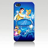Candy Apple Disney CINDERELLA Fairytale Mobile Phone Case/Cover for Iphone 5/5G/5S - White