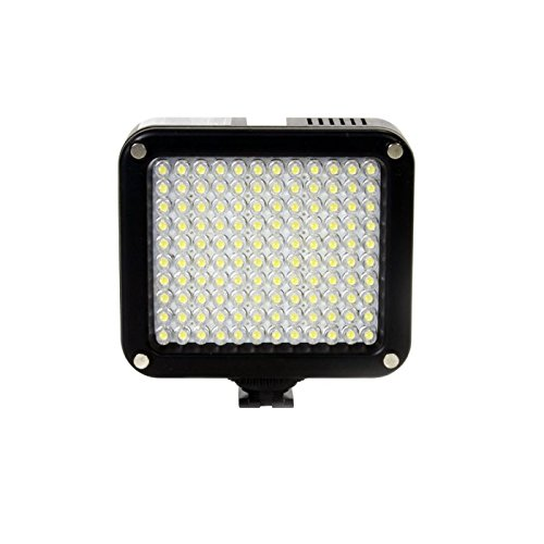 Ikan Corporation 120 Bulb Stackable On-Camera Led Light Black, (Iled120)