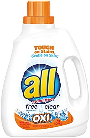 All Ultra Free Clear Oxi Laundry Detergent, 94.5 Ounce