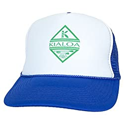 KIALOA Paddles Unisex Snapback Reflection Trucker Hat - Red (One Size)