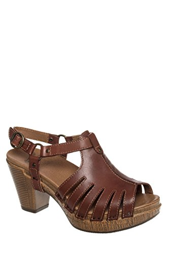 Randa Full Grain High Heel Sandal