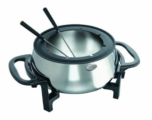 Rival Fondue Pot, Stainless Steel