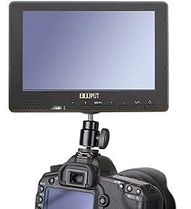 Full HD Video Kamera DV DC HDMI 1080P YPbPr Lilliput 667GL 7