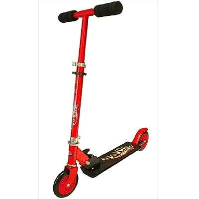 Nebulus Va Va Voom Nebulus 2 Wheel Folding Scooter Red & Black