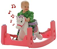 Tek Nek Rockin' Rider Starlight Grow-with-Me Pony - Animated Plush Rocker and Spring Horse by Tek Nek
